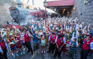 Hogwarts Express Millionth Rider Celebration-2